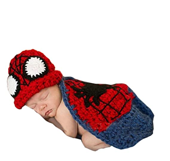 Amazon Pinbo Newborn Baby Photography Prop Crochet Knitted