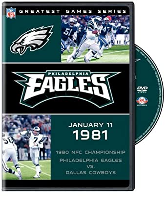 9ef05ff5 Image Unavailable. Image not available for. Color: NFL: Greatest Games - Philadelphia  Eagles 1980 NFC Championship Game