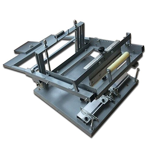 Gowe® Curve Manual Cup and Bottle Silk Screen Printing Machine for 1 Color, Manual Bottle Printing Machine