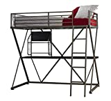 Powell Furniture Z Loft Bed, Pewter