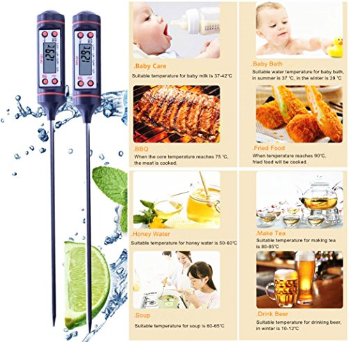 Royal Grill Cooking Thermometer, Digital Thermometer with...
