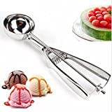 C&C Products 4CM Stainless Steel Ice Cream Scoop Mashed Potato Spoon