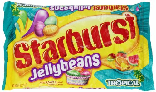 Starburst Tropical Jellybeans, 14.oz Bag (2 Pack)