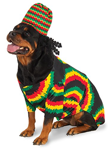Rasta Big Dog Boutique, XX-Large -