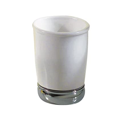 Attirant InterDesign York Bath Collection, Tumbler Cup For Bathroom Vanity  Countertops   White