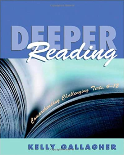Amazon.com: Deeper Reading: Comprehending Challenging Texts, 4-12 ...