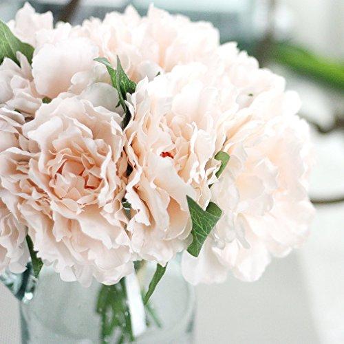 5 Cabeas Penia Buqu De Noiva Falso Especial Flores Artificiais Decorao Do Casamento Festa de Casamento Decorao Flores Decorao de Casa