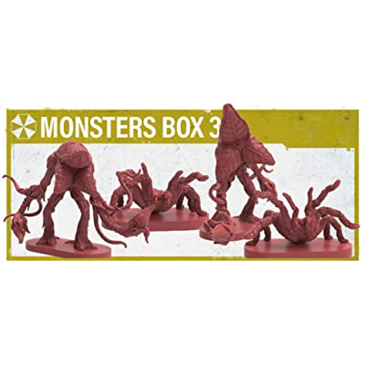 Resident Evil 2 The Board Game: Monster Box 3 (Kickstarter Exclusive): Toys & Games