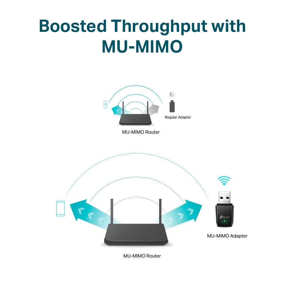 N 150Mbps TP-Link Adaptador wifi USB inalámbrico Compatible