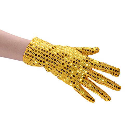 Kids Sequin Gloves Special Occasion Use Children's Performance Gloves Party Gloves Costume Accessory Christmas Dress up -
