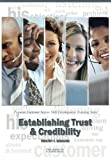 img - for Establishing Trust & Credibility: Pinpoint Customer Service Skill Development Training Series book / textbook / text book