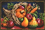 "Caron Classics Latch-Hook Kit, Country Harvest, 20"" X 30"""