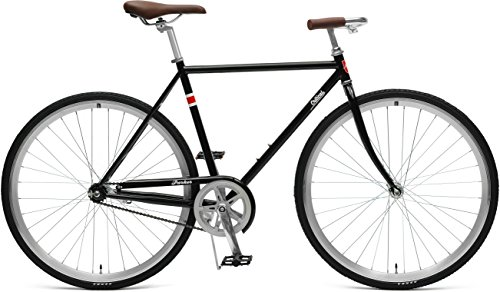 Cheap Critical Cycles Parker City Bike with Coaster Brake, Black, 53cm/Medium