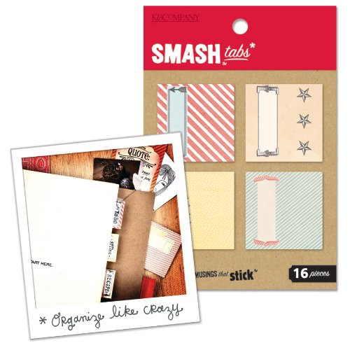K&CompanySmash Tabs, Paper (Smash Book Supplies)