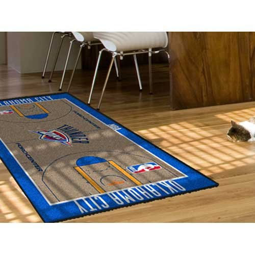Oklahoma City Thunder Large Court Runner 29.5