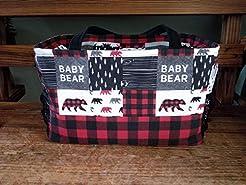 Diaper Bag - Baby Bear or Little Man Moo...