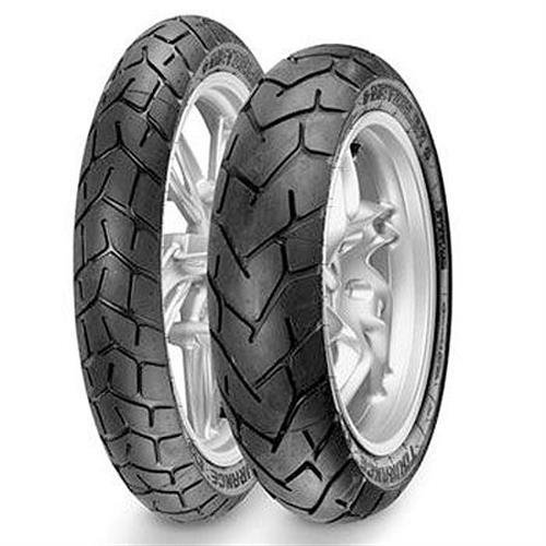 Metzeler Tourance EXP Tire - Rear - 150/70R-17 , Position: Rear, Rim Size: 17, Tire Application: All-Terrain, Tire Size: 150/70-17, Tire Type: Dual Sport, Load Rating: 69, Speed Rating: V, Tire Constr...