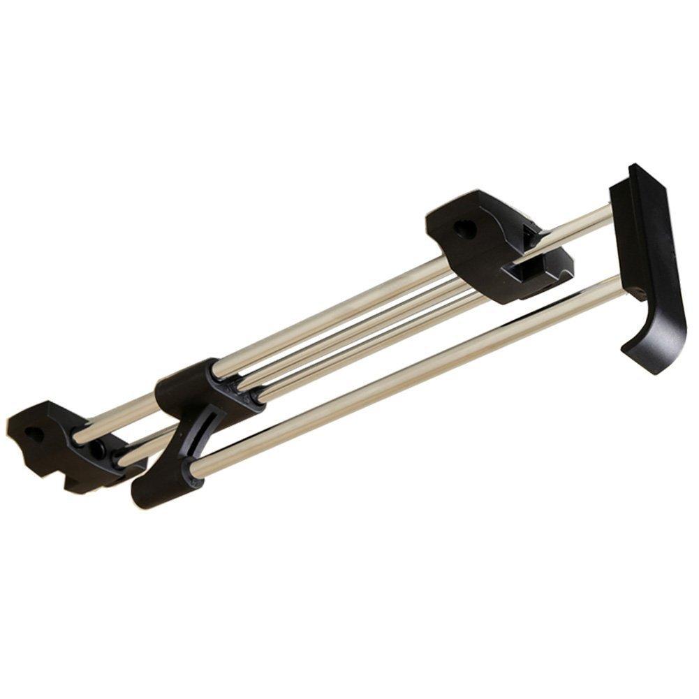 ZJchao Wardrobe Rail, Wardrobe Pull Out Clothes Hanger Rail Organizer Rack Metal (40cm/ 15.7 Inches) AX-AY-ABHI-96799