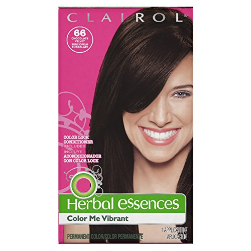 Herbal Essences Color Me Vibrant Permanent Hair Color 066 Chocolate Velvet 1 Kit (PACKAGING MAY VARY)