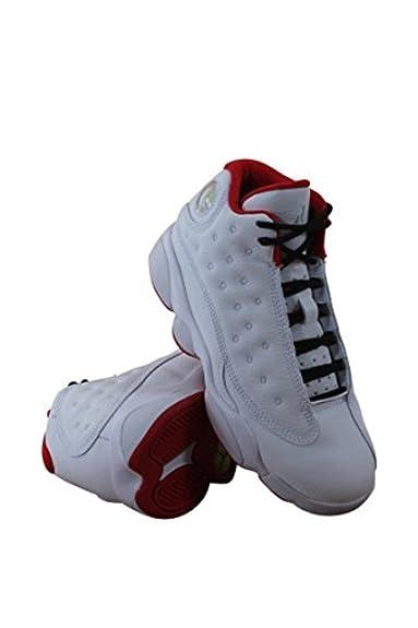 size 40 d750a 678ae Nike Air Jordan 13 Retro BP Little Kid s Shoes White Metallic Silver  University Red