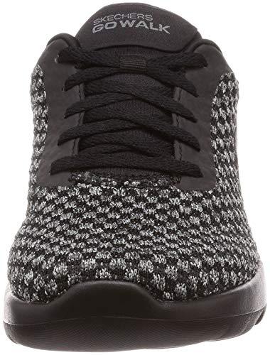 UK Walking Color black Ladies 5 Size Skechers Pivotal Color Go 5 Walk Joy Shoe Black Shoes qwnZ1XSR