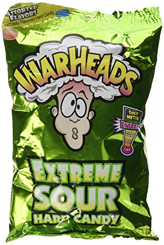 (Warheads Extreme Sour Hard Candy 3.25oz Assorted Flavors)