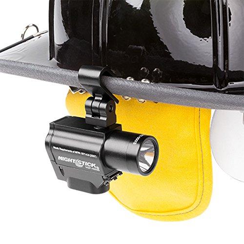 Nightstick NSP-4650B Helmet-Mounted Multi-Function Dual-Light Flashlight, Black