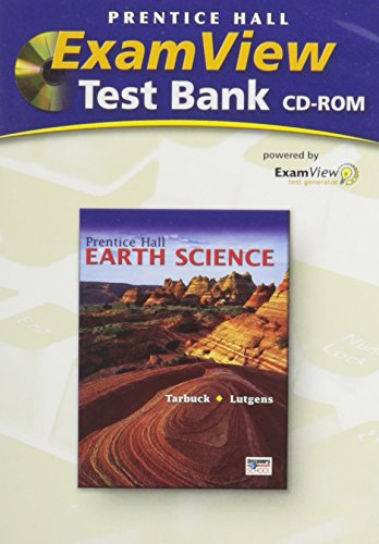Prentice Hall Earth Science ExamView Test Bank on CD-ROM