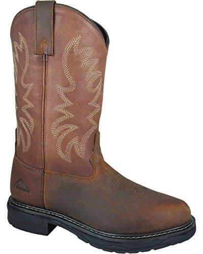 Smoky Mountain Mens Buffel Eh Arbete Boot Rund Tå - 4470 Brun