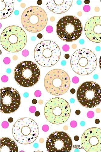 Book Donut Notebook: Cute Kawaii Donut notebook for Writing, Notes, Journaling or School: Volume 1 Kawaii Notebook