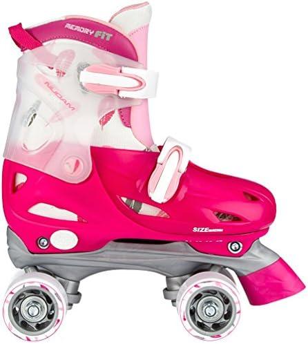 Nijdam Mädchen Hardboot Rollerskates Junior Verstellbar