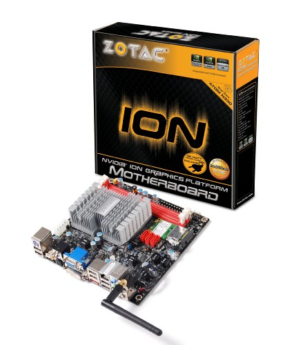 Zotac IONITX-A-U Atom N330 Dual Core 90-Watt PSU WiFi ITX Intel Motherboard