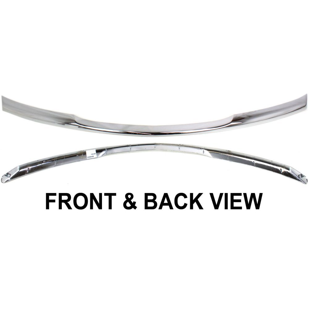 Bumper Trim Molding compatible with Chrysler Pacifica 07-08 Front Upper Chrome 1 Piece