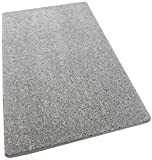 "Cheap 12'X18′ Area Rug Carpet. GRANDMA'S SILVER HAIR GREY 30 oz. ½"" Thick. 100% Polyester fiber, Medium Density, Soft and Durable. MULTIPLE SIZES, SHAPES and Brilliant Colors."