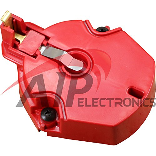 New Red HEI Distributor Rotor Replacement For All GM Ford V6 V8 HEI'S (V8 Distributor Rotor)