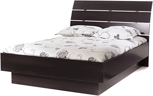 Tvilum Scottsdale Bed with with Slats, Queen, Coffee