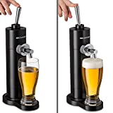 Portable Beer Dispenser, Beer Dispensing Equipment System for One Can to Draft a Good Pint, Works Perfect for 12oz Cans, Great Gift Idea