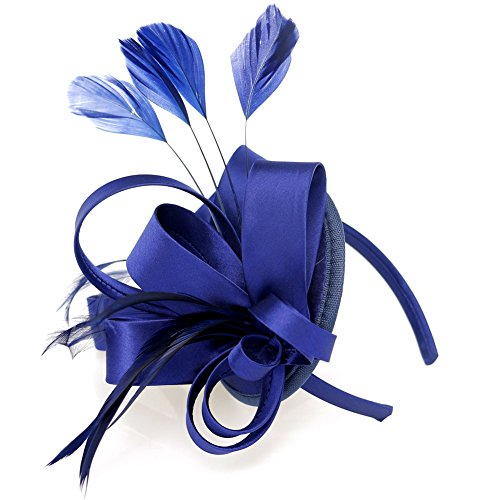 Fascinator Feather Cocktail Kentucky Headband product image