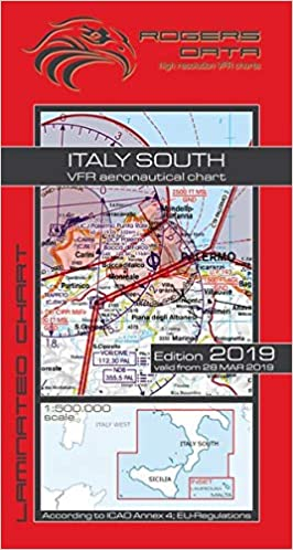 Italien Karte Lampedusa.Italy South Lampedusa Malta Rogers Data Vfr