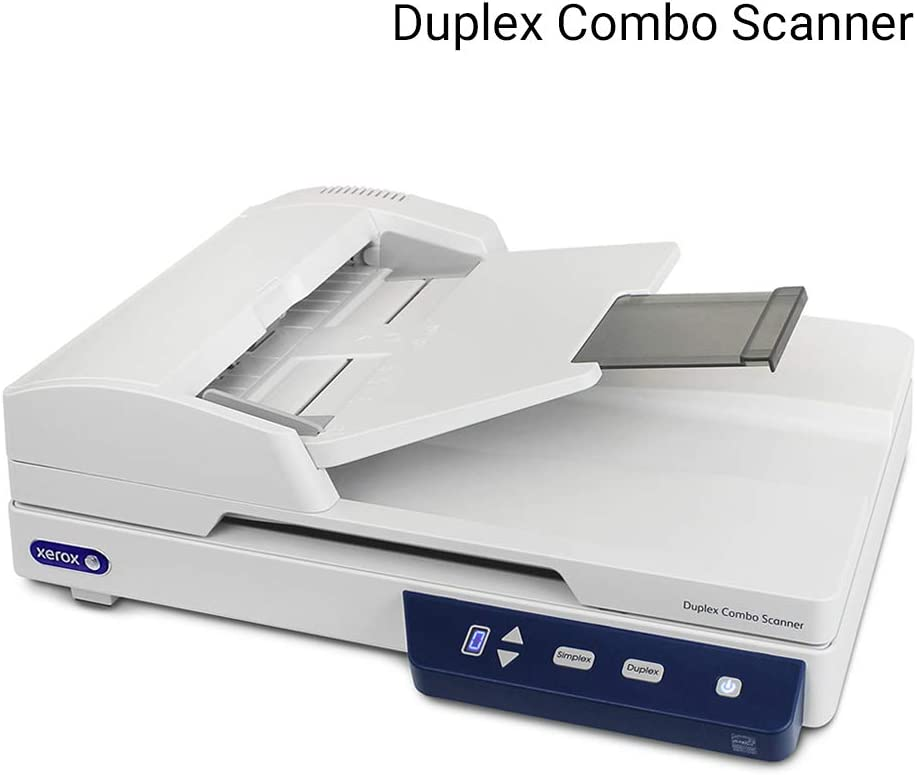 Xerox Duplex Combo Flatbed Scanner with Automatic Document Feeder