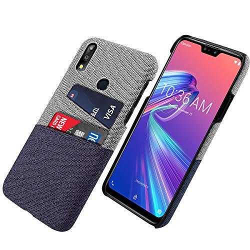 シェル の Asus Zenfone Max Pro (M2) ZB631KL, LoveBee カスタマイズされた Back case Asus Zenfone Max Pro (M2) ZB631KL カバー シェル, Back case 耐久性のある 保護 バンパーバック 電話 シェル-Blue