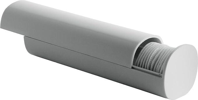 Amazon.com: Alessi Aleesi PL06 W Birillo Cotton Pad Dispenser, White: Home & Kitchen