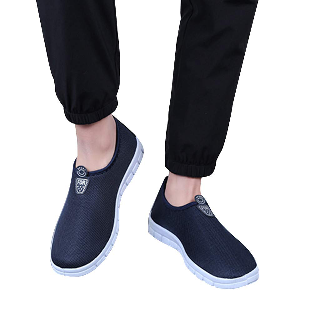 Men's Slip-On Shoes - Sport Sneakers Comfortable Footwears Loafers Shoes,2019 New by MEN SHOES BIG PROMOTION-SUNSEE (Image #4)