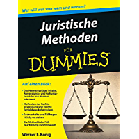 Juristische Methoden für Dummies (German Edition) book cover