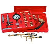 Master Fuel Injection Pressure Test Kit with Carry Case for Most Domestic and Imported Cars
