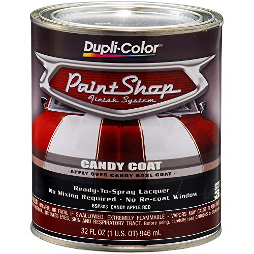 (Dupli-Color BSP303 Candy Apple Red Paint Shop Finish System - 32 oz. )