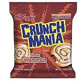 Kellogg's Crunchmania, Graham Snacks, Bite-Size Cinnamon, 1.76 oz(Pack of 100)