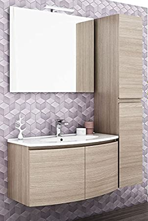 dafnedesign. COM – Mobile Badezimmer Und Spalte Zwei Türen, Spiegel ...