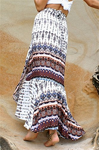 Lueyifs - Falda - Una manga - para mujer blanco