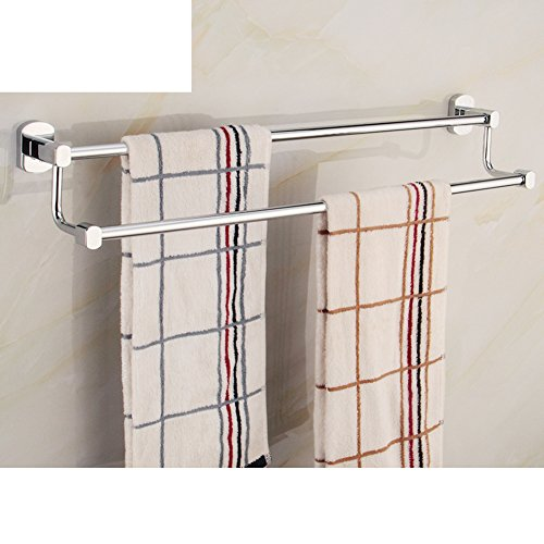 Bathroom Accessories/Towel rack with double layer/Towel shelf /Double Towel Bar-G lovely
